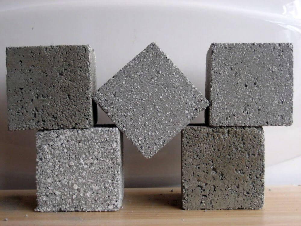 Виды бетона